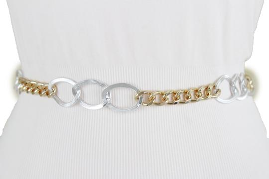 Alwaystyle4you Women Fashion Female Sexy Belt Silver Gold Metal Chain Links XS S M Image 7
