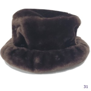 Betmar Betmar New York Brown Faux Fur Hat