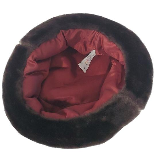 Betmar Betmar New York Brown Faux Fur Hat Image 2