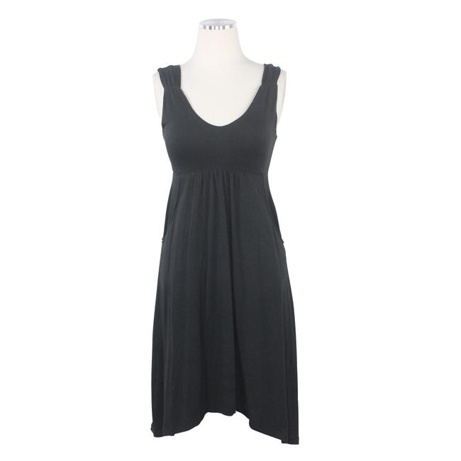 Preload https://img-static.tradesy.com/item/25779044/athleta-black-ruched-sleeveless-empire-scoop-neck-pockets-pleats-short-casual-dress-size-2-xs-0-0-650-650.jpg