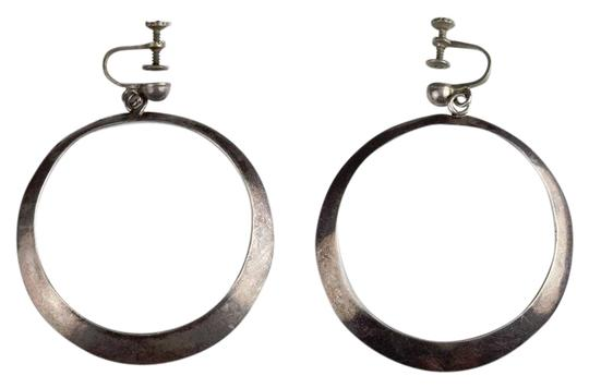 Preload https://img-static.tradesy.com/item/25779053/silver-mexican-dangle-hoop-earrings-0-1-540-540.jpg