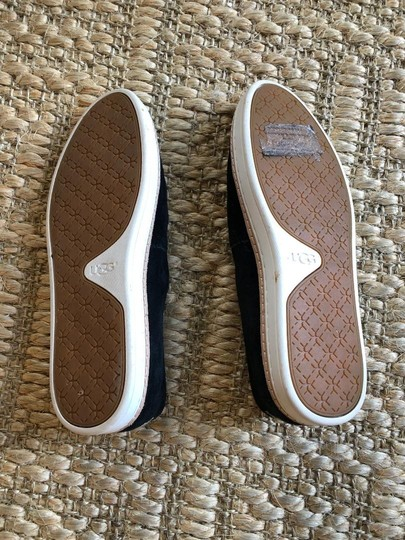 UGG Australia Suede New In Box Never Worn Black Flats Image 5