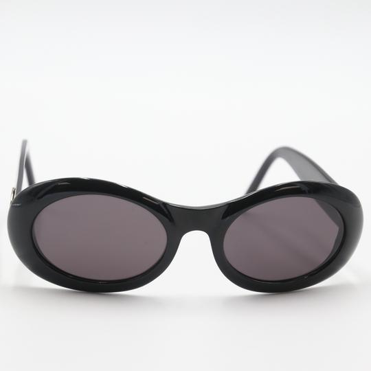 Gucci Oval Silver-tone GG Round Cat Eye Sunglasses 2400/N/S Image 1