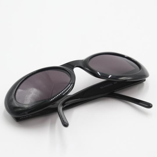 Gucci Oval Silver-tone GG Round Cat Eye Sunglasses 2400/N/S Image 3