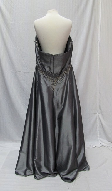 Cassandra Stone Prom Homecoming Strapless Long Dress Image 2