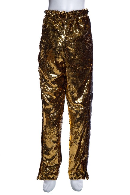 Preload https://img-static.tradesy.com/item/25779236/faith-connexion-gold-sequin-track-trouser-pants-size-8-m-29-30-0-0-650-650.jpg