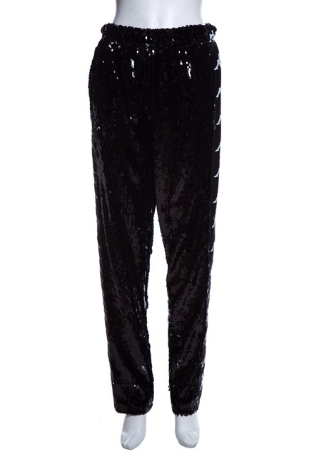 Preload https://img-static.tradesy.com/item/25779244/faith-connexion-black-sequin-track-trousers-pants-size-6-s-28-0-0-650-650.jpg