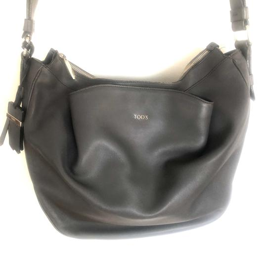 Tod's Leather Hobo Cross Body Bag Image 6