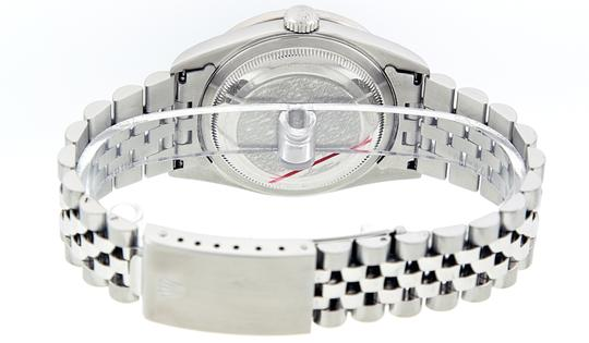 Rolex Mens Datejust Stainless Steel with Diamond Dial Watch Image 2