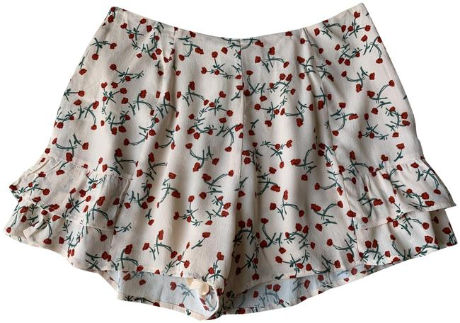 Preload https://img-static.tradesy.com/item/25779286/pink-sweet-love-light-red-floral-ruffled-high-waist-shorts-size-12-l-32-33-0-1-650-650.jpg