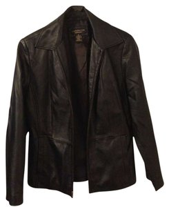 Croft & Barrow Leather Classic Leather Jacket