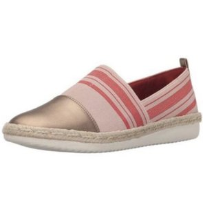 Easy Spirit Pink and Gold Flats