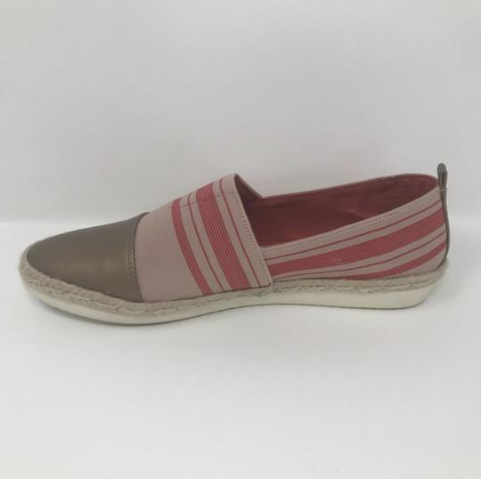 Easy Spirit Pink and Gold Flats Image 1