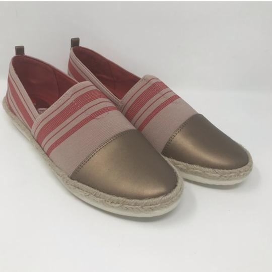 Easy Spirit Pink and Gold Flats Image 6