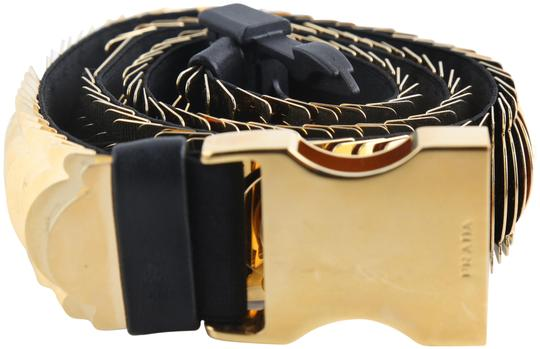 Preload https://img-static.tradesy.com/item/25779350/prada-gold-elastic-metal-belt-0-1-540-540.jpg