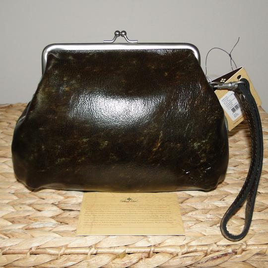 Patricia Nash Designs Savena Leather Tooled Wristlet in Turquoise Image 2