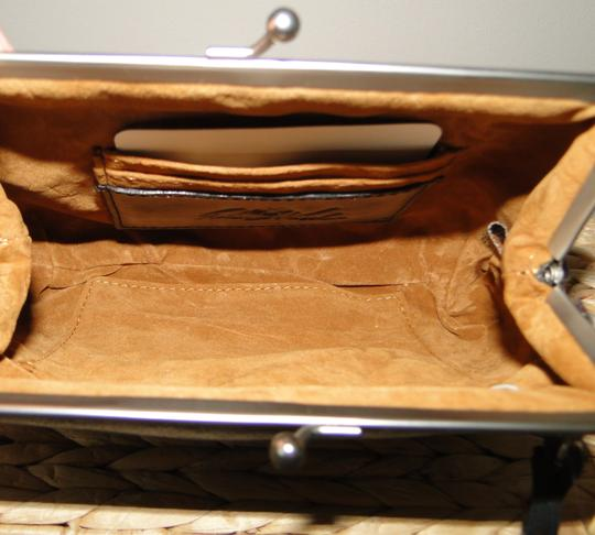 Patricia Nash Designs Savena Leather Tooled Wristlet in Turquoise Image 4