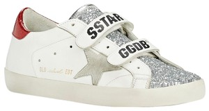 Golden Goose Deluxe Brand white/red Athletic
