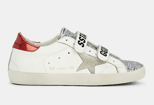 Golden Goose Deluxe Brand white/red Athletic Image 1