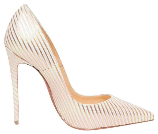 Preload https://img-static.tradesy.com/item/25779389/christian-louboutin-white-so-kate-120-rayoflight-snow-gold-pink-stripe-stiletto-heel-pumps-size-eu-3-0-1-540-540.jpg