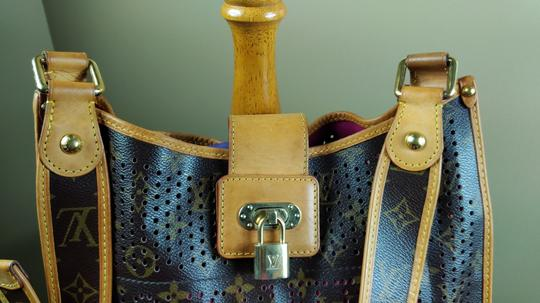 Louis Vuitton Limited Edition Perforated Musette Shoulder Bag Image 1