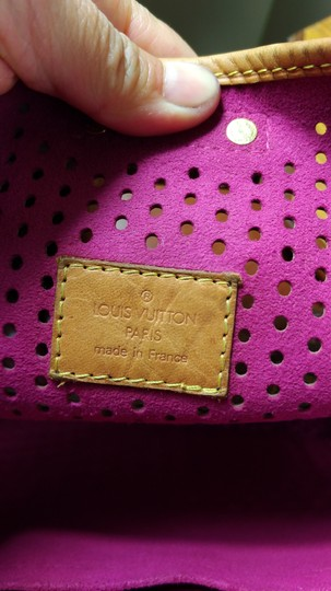 Louis Vuitton Limited Edition Perforated Musette Shoulder Bag Image 10