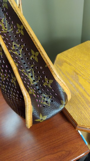 Louis Vuitton Limited Edition Perforated Musette Shoulder Bag Image 4