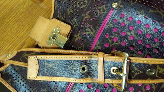 Louis Vuitton Limited Edition Perforated Musette Shoulder Bag Image 6