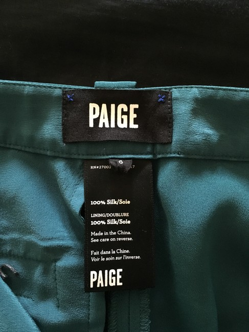 Paige Relaxed Pants Turquoise Image 2