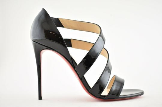 Christian Louboutin Pigalle Stiletto Classic Ankle Strap Drama black Pumps Image 1