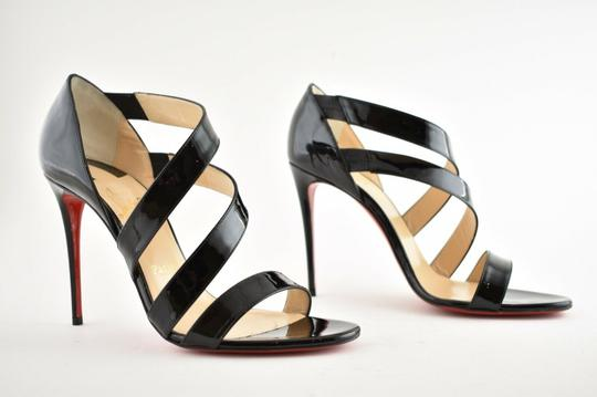 Christian Louboutin Pigalle Stiletto Classic Ankle Strap Drama black Pumps Image 3