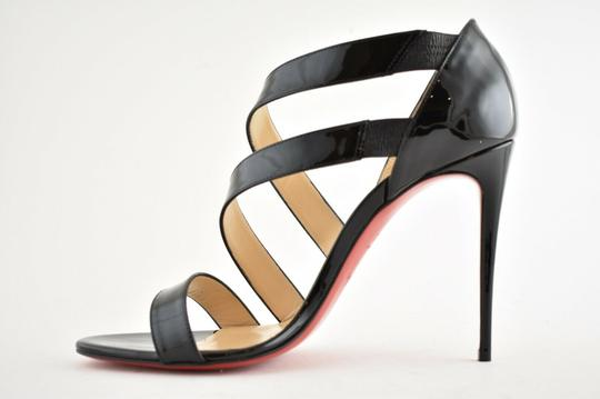 Christian Louboutin Pigalle Stiletto Classic Ankle Strap Drama black Pumps Image 7