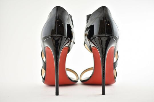 Christian Louboutin Pigalle Stiletto Classic Ankle Strap Drama black Pumps Image 9