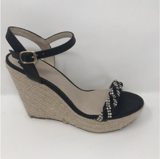 Fergalicious by Fergie Black and Tan Wedges Image 2