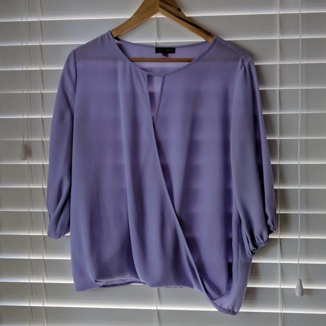 Preload https://item2.tradesy.com/images/vince-camuto-purple-elbow-sleeve-wrap-front-small-blouse-size-4-s-25779466-0-0.jpg?width=400&height=650