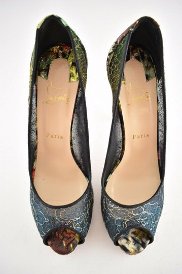 Christian Louboutin Pigalle Follies Stiletto Glitter Classic black Pumps Image 6