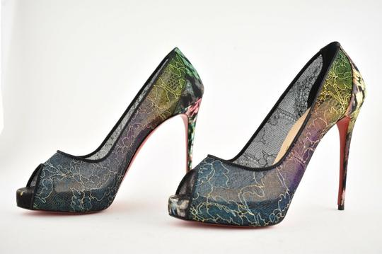 Christian Louboutin Pigalle Follies Stiletto Glitter Classic black Pumps Image 8