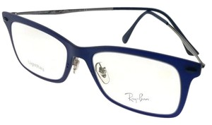 Ray-Ban RX7039-5451 Light Ray Unisex Blue Frame Clear Lens 53mm Eyeglasses