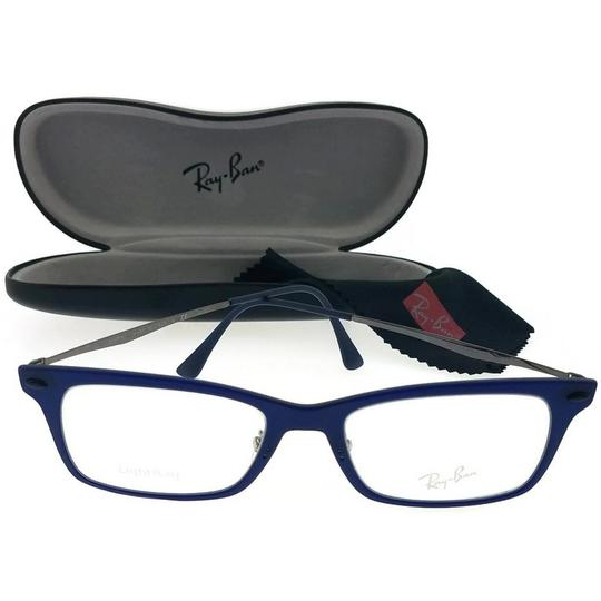 Ray-Ban RX7039-5451 Light Ray Unisex Blue Frame Clear Lens 53mm Eyeglasses Image 1
