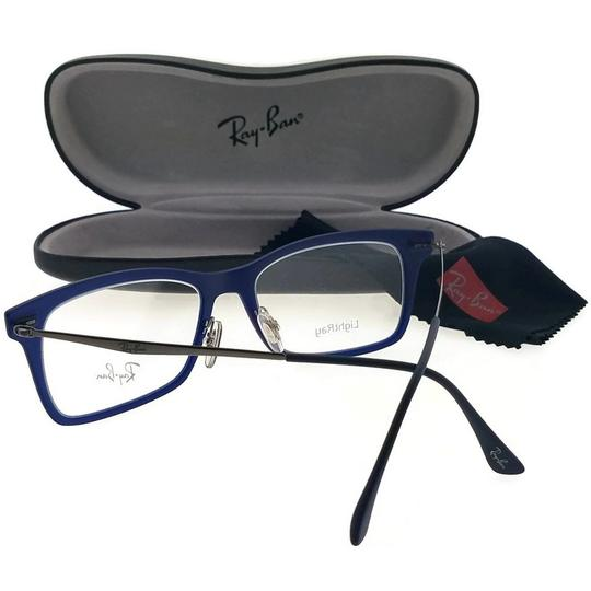 Ray-Ban RX7039-5451 Light Ray Unisex Blue Frame Clear Lens 53mm Eyeglasses Image 2