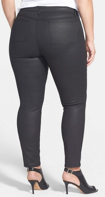 Eileen Fisher Skinny Jeans-Coated Image 1