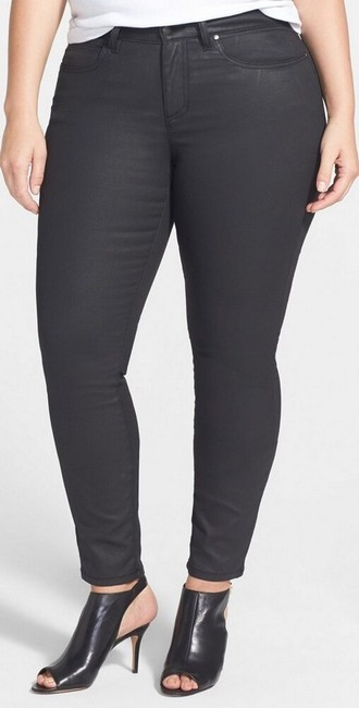 Eileen Fisher Skinny Jeans-Coated Image 2