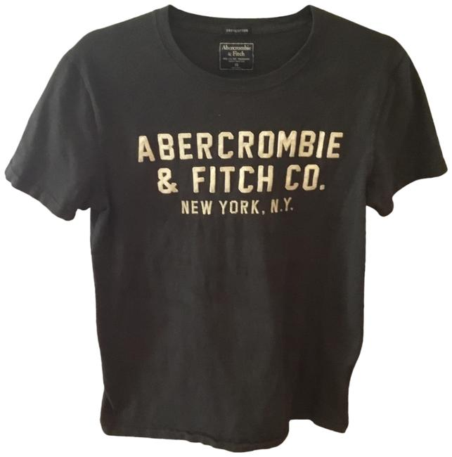 Preload https://img-static.tradesy.com/item/25779746/abercrombie-and-fitch-black-logo-tee-shirt-size-2-xs-0-1-650-650.jpg