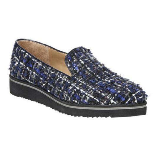 Preload https://img-static.tradesy.com/item/25779761/franco-sarto-blue-and-black-fabrina-fabric-loafers-wedges-size-us-8-regular-m-b-0-0-540-540.jpg