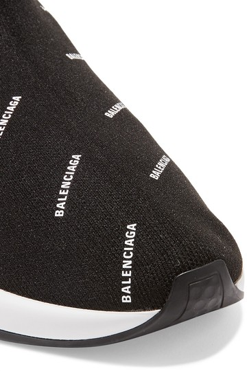 Balenciaga Speed Trainers Sneakers Logo Black Athletic Image 1
