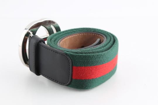 Gucci Gucci Web Belt with G Buckle Image 1