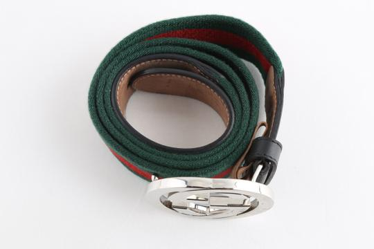 Gucci Gucci Web Belt with G Buckle Image 3