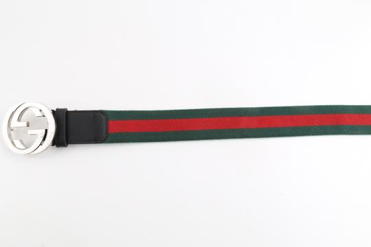 Gucci Gucci Web Belt with G Buckle Image 4