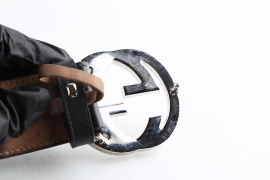 Gucci Gucci Web Belt with G Buckle Image 9