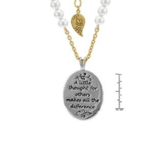 Disney DISNEY COUTURE WINNIE POOH 'A LITTLE THOUGHT FOR OTHERS' NECKLACE**NEW Image 2